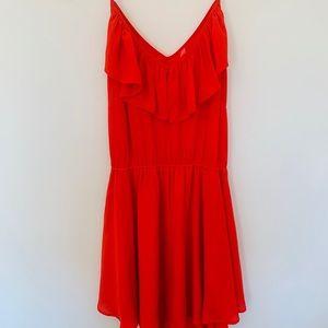 Eight Sixty mini red dress